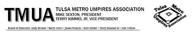 Tulsa Metro Umpires Association